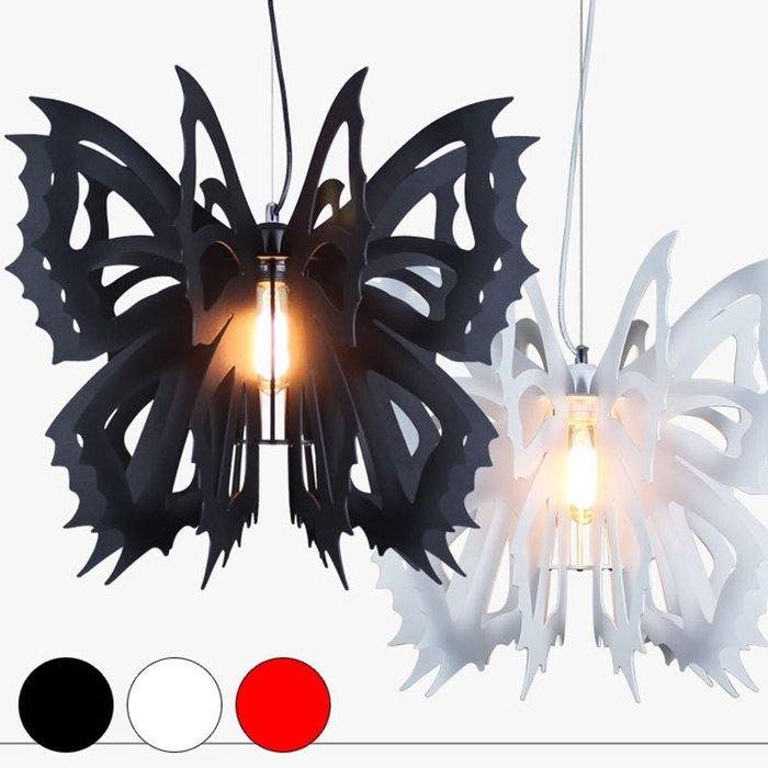 【58街】義大利燈具「蝴蝶吊燈 /內崁LED 3w崁燈吸頂盤」美術燈。複刻版。GH-554