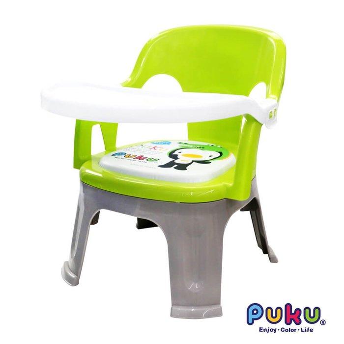 貝比的家-藍色企鵝-PUKU-3合1-多功能-餐椅/兒童椅/嗶嗶椅/遊戲椅(綠色)特價550