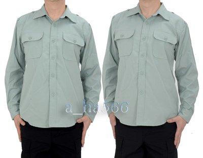 陸軍軍便服*長袖-軍用襯衫*上衣
