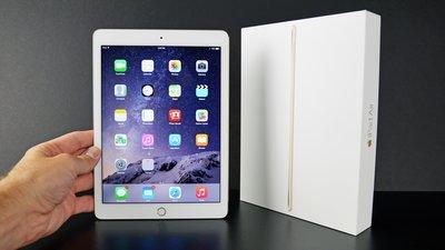 『皇家昌庫』APPLE iPad AIR2 wifi 64G 金色 95%成新 出清價 盒裝 超划算