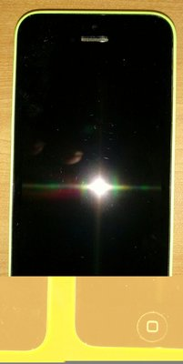 $${故障機}iPhone i5c蘋果綠$$