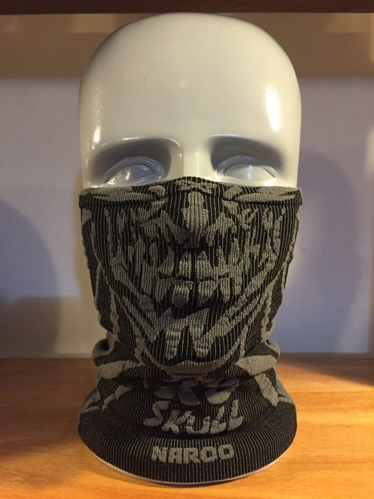 (I LOVE樂多) Naroo Mask骷髏長版X5騎行運動 面罩 單車 哈雷 越野 滑胎 偉士 VESPA Cafe