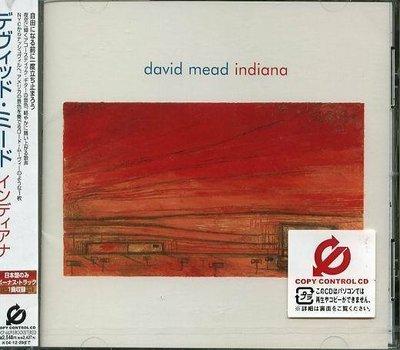 (甲上唱片) David Mead - INDIANA - 日盤+1BONUS