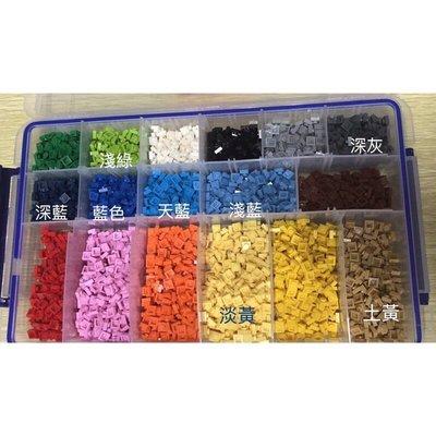 阿米格Amigo│1*1 有21色 積木零件 積木磚 積木配件 散磚 矮片 1x1 積木 非樂高但相容 第三方零件