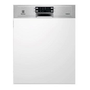 瑞典 伊萊克斯 Electrolux 半崁式洗碗機 ESI4621LOX/新竹免運