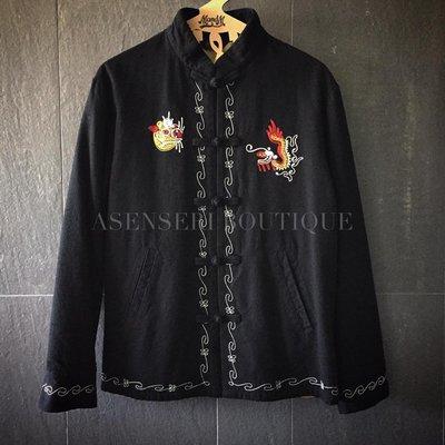 ✞ASENSERI✞ TENDERLOIN T-SOUVENIR JKT STAND 中國風立領刺繡外套