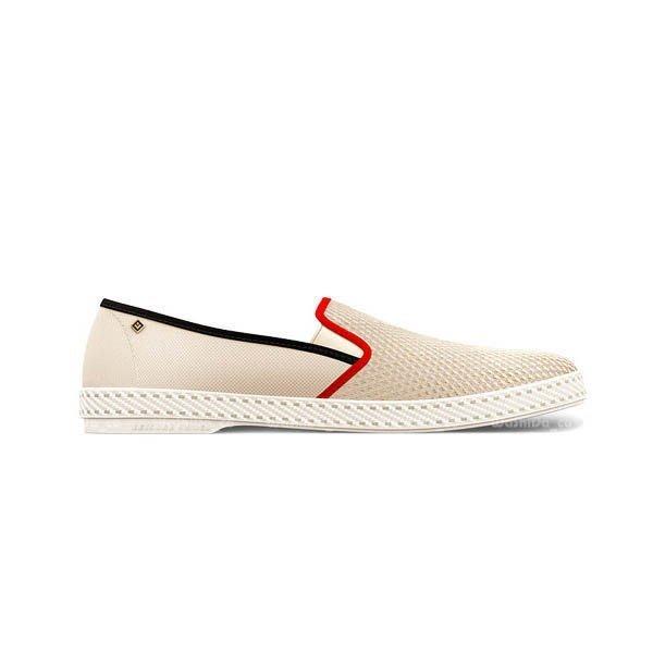 ☆AirRoom☆【現貨】西班牙 鞋 Rivieras 2013 Hot ROD 20° 休閒鞋 紅 白 冠希著用款