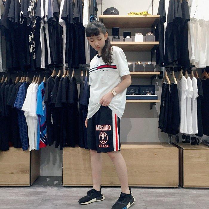 【現貨】 男 MOSCHINO 海灘褲 保證正品 歡迎來店參觀選購 黑色 2018 SS