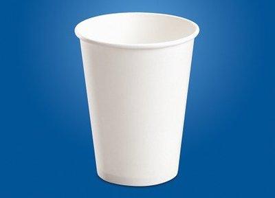 冷飲紙杯 12oz 白色    (冷飲杯 紙杯 飲料杯)