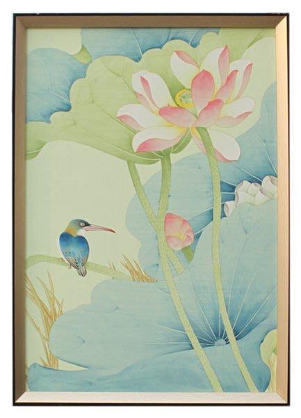 【芮洛蔓 La Romance】東情西韻系列手繪絹絲畫飾 CHF-004