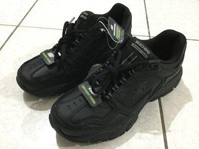 現貨 Skechers 超輕 休閒鞋 工作鞋 登山鞋 全黑 US9 27CM