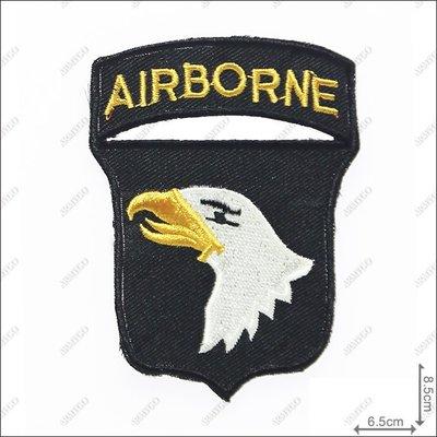 【ARMYGO】美軍101空降師(黑色...