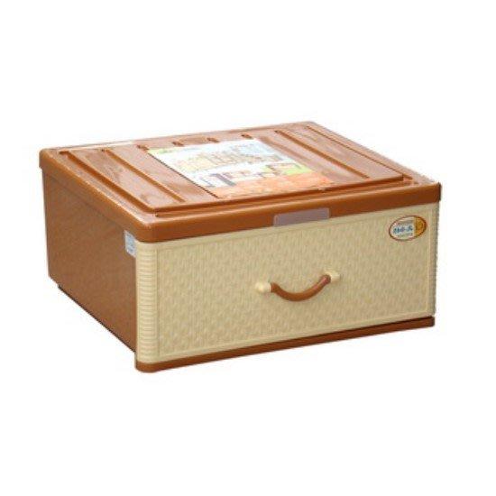 Sato/特大佐藤抽屜整理箱/單層櫃/藤式日本單抽整理箱/塑膠箱/收納箱/整理箱/直購價