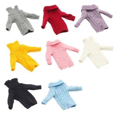新風小鋪-30厘米俏芭妃婚紗芭比娃娃毛衣套頭針織毛線衣服6分女孩玩具精致
