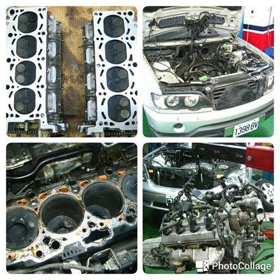 賓士 BENZ 引擎大修 搪缸 吃機油 引擎異音 M104 M111 M112 M113 M271 M272 M273