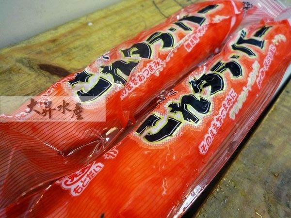 【大昇水產】冬令火鍋來點特別的-日本原裝進口帝王蟹味棒(魚漿製品)
