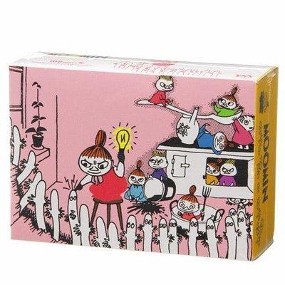 尼德斯Nydus~* 日本正版 嚕嚕米 Moomin 姆明 女巫小美 小不點 阿美 拼圖 108片 微透光半透明 日本製