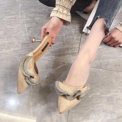 【新品上市】高跟拖鞋 女外穿夏季新款尖...