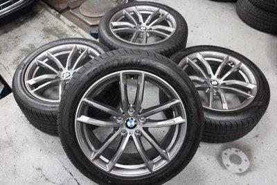 蓋世輪 BMW G30 M版原廠18吋鋁圈輪胎(新車拆)售40000