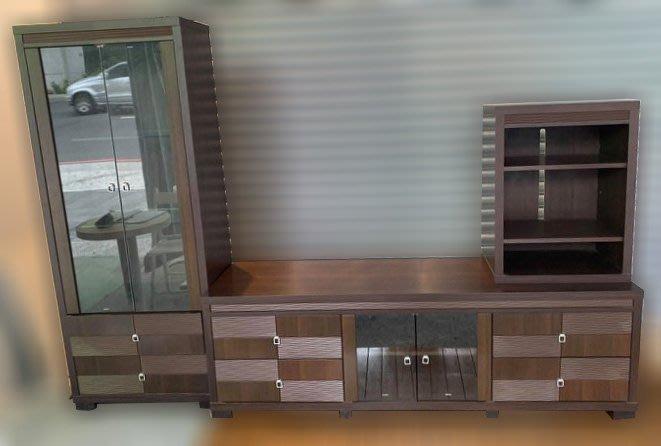 樂居二手家具 便宜2手傢俱拍賣 A0202HJJ胡桃電視櫃 TV矮櫃*二手櫥櫃 鞋櫃 置物櫃 收納櫃 台北新竹苗栗彰化
