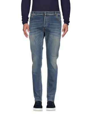 Balmain 藍色刷色牛仔褲