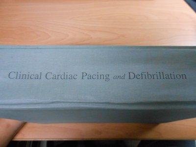 【宜蓁書坊】-西文書-*Vlinical Cardiac Pacing and Defibrillat*共1本2F-A1
