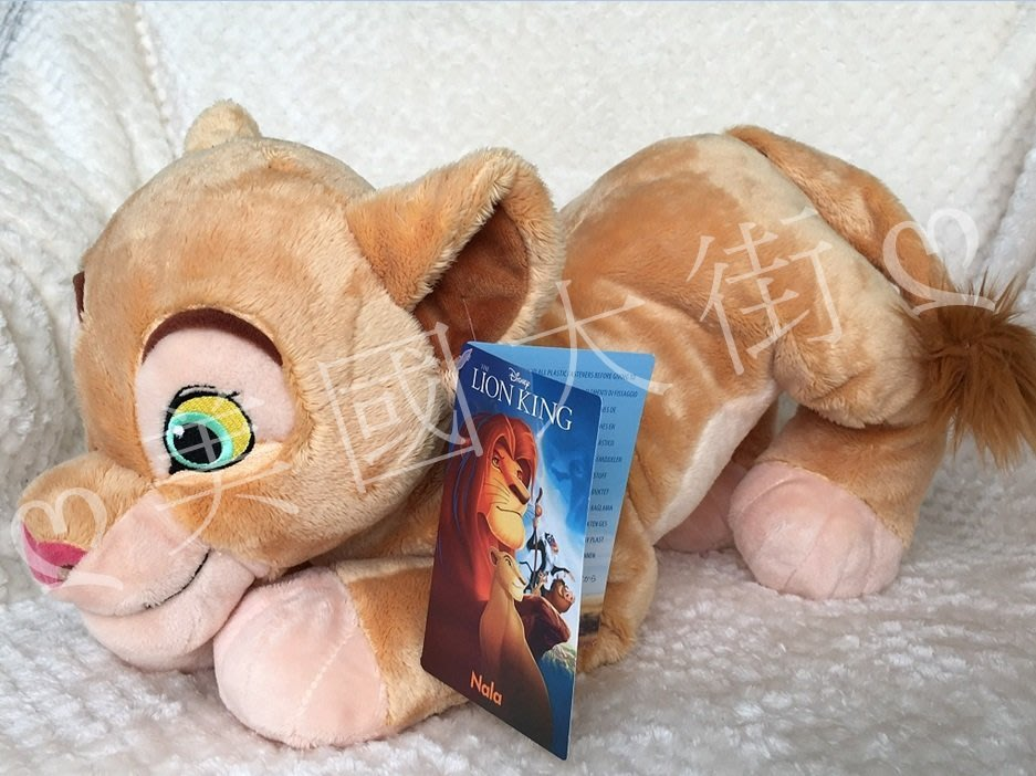 現貨【美國大街】正品.美國迪士尼獅子王娜拉絨毛娃娃 Nala 17吋 / 43cm