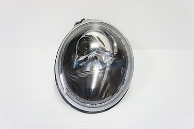 ~~ADT.車燈.車材~~福斯 VW BEETLE 金龜車 98-05 原廠型黑框魚眼大燈一對4500