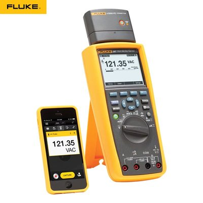 萬用表FLUKE福祿克F287C F289C\/FVF真有效值F87VC F177C\/175C數字萬用表