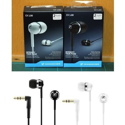 全新香港行貨 Sennheiser CX1.00 Headphone Earphone 耳筒 耳機 耳塞 CX 1.00 新蒲崗 旺角交收