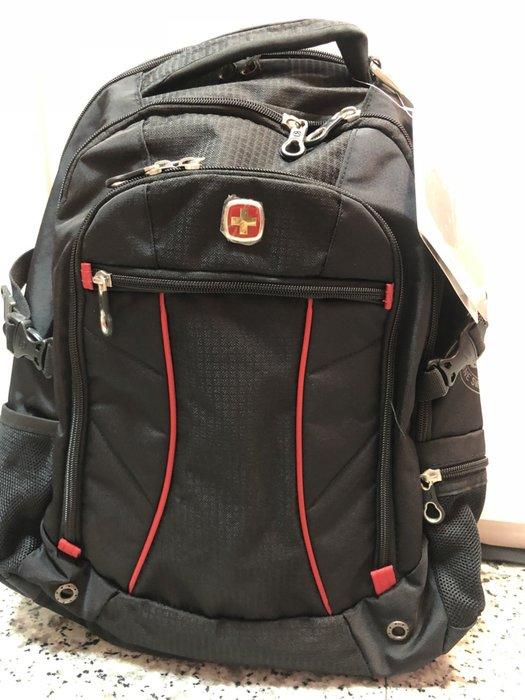 41+本通@gift41 WENGER 多功能 15吋 筆電 後背包 紅 WE311818RD