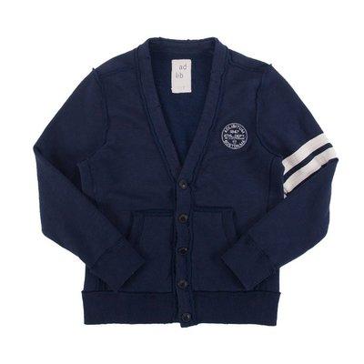 【YOYOGI PLUS】ADLIB - 破壞棉質外套 (SW018) - 深藍