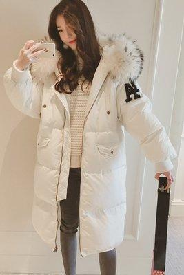 【再不美就老啦🔥】暖炸你的身體-保暖加厚連帽長版羽絨保暖外套/防風/防寒【三色ONESIZE】
