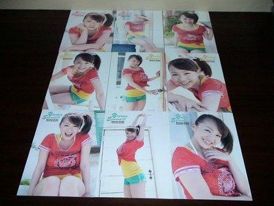HIT'S Limited Erika Yazawa 谷澤恵里香 寫真卡9張一起賣3