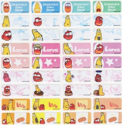 熊爸印&貼 逗逗蟲  姓名貼紙 正版 台灣製  防水 貼紙 標籤 300張小尺寸