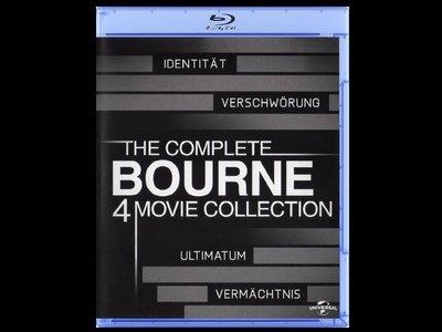 【BD藍光】神鬼認證 1 ~ 4集:四碟限量套裝紀念版The Bourne(台灣繁中字幕)