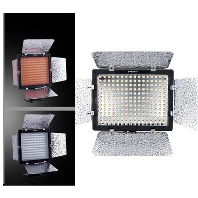 黑熊館 永諾 YN~160III LED 攝影燈 錄影燈 補光燈 智慧光感調光 內建MIC 麥克風