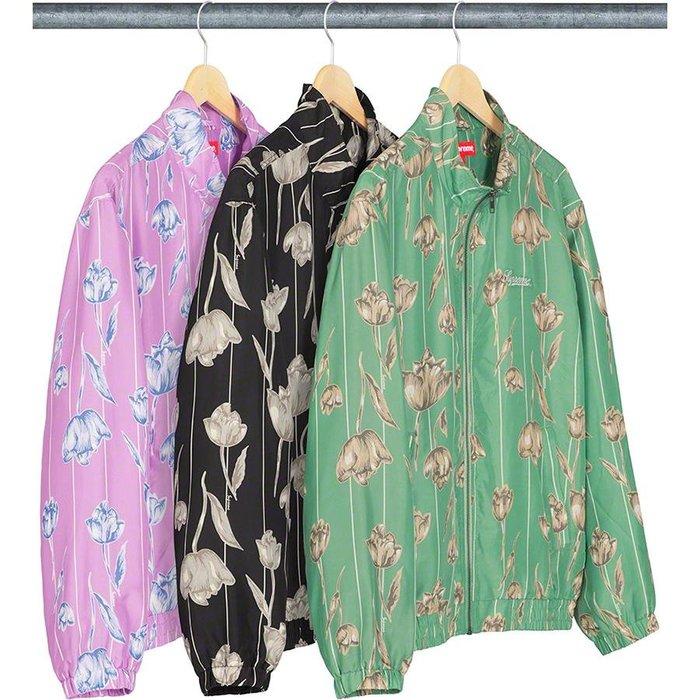 【美國鞋校】預購 SUPREME SS19 Floral Silk Track Jacket 夾克