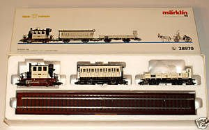 HO 28970 MARKLIN / TRIX WEEDING CAR SET 1997限量 結婚禮車 紀念列車(馬克林系統)