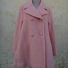 jacob00765100 ~ 正品 MERCURYDUO 嫩橘色 傘型羊毛外套 size: F