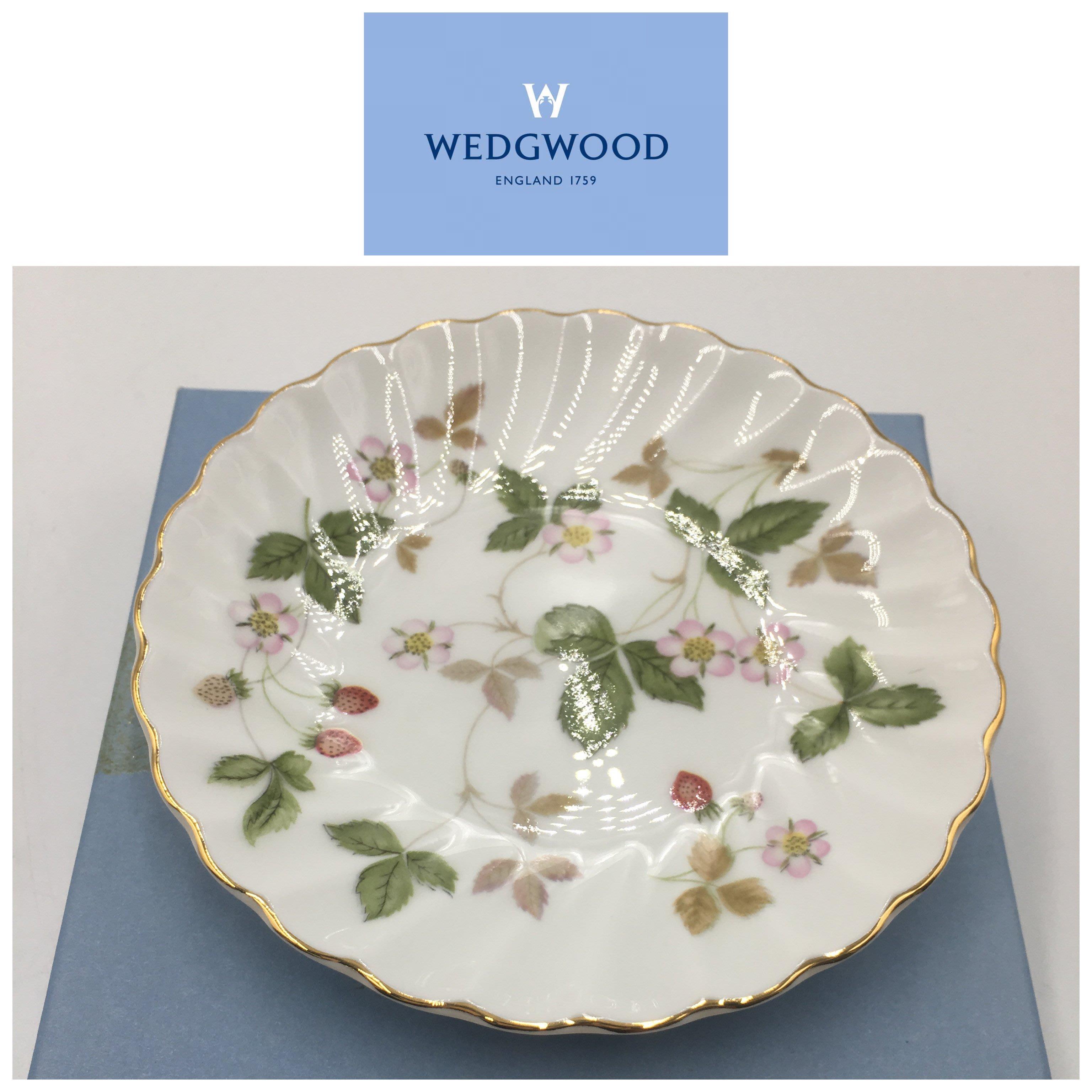 【皮老闆二店】二手真品 WEDGWOOD 盤子 小圓盤 野莓 瓷310