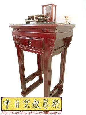 《拜祖先居家小型公媽桌祖先桌58》2尺2寬小神桌小佛桌小供桌 祭祖桌 祖先牌位雕刻
