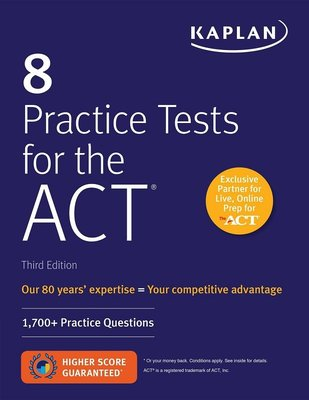 ACT8套習題(第三版)英文原版 8 Practice Tests for the ACT 3rd Edition