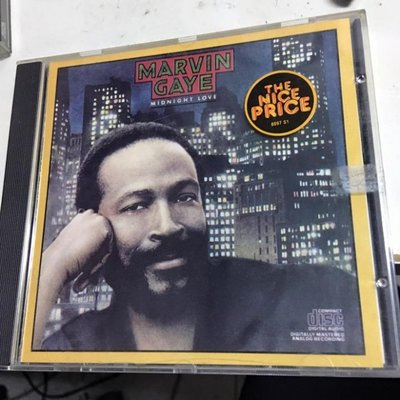 CD  Marvin gaye   / midnight love 保存良好