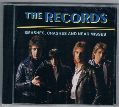 [鑫隆音樂]西洋CD-THE RECORDS/SMASHES CRASHES AND NEAR MISSES (全新)免競標