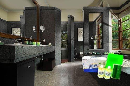 浴室地板防滑《防滑大師》浴室大理石地面防滑劑組(浴室止滑劑)