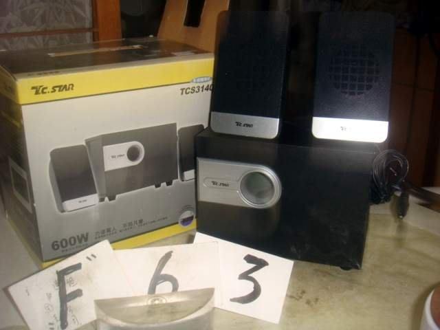 C56 電腦喇叭 俗賣 如像 F63