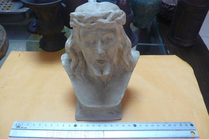 紫色小館88-----早期石膏耶穌像