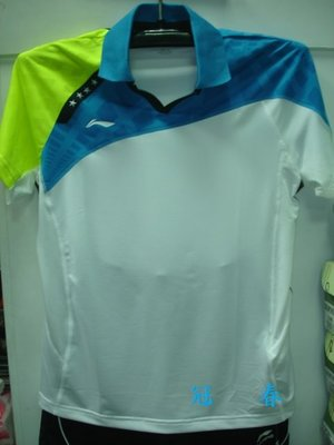 冠春企業/LI-NING李寧運動服省隊比賽用男、女拼接、印花排汗POLO衫