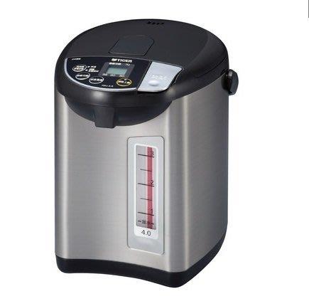 TIGER虎牌 4.0L超大按鈕電熱水瓶(PDU-A40R)